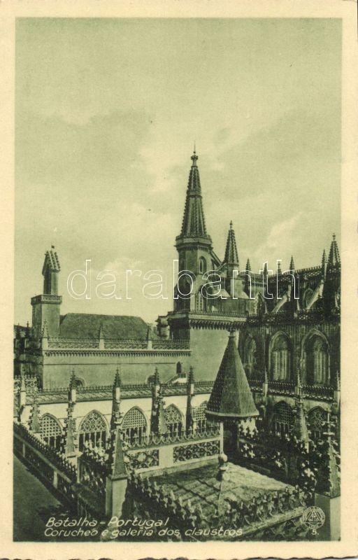 Batalha, Corucheo e galeria dos claustros / cloister