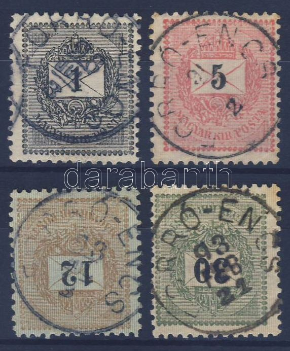 4 different stamps