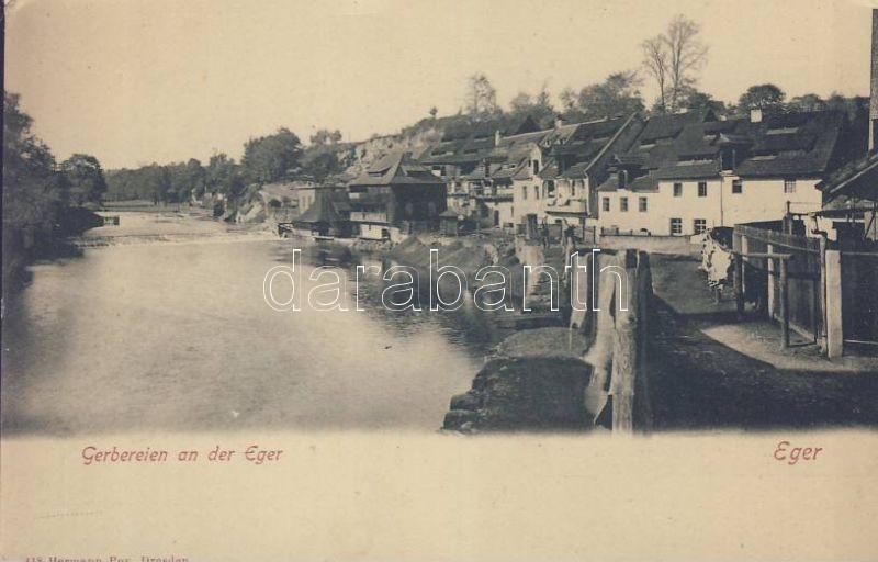 Eger, Cheb; Gerbereien