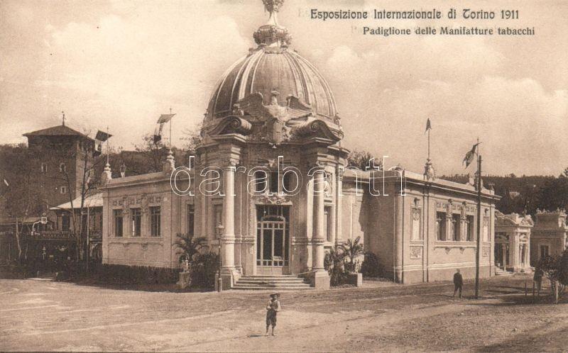Torino, Turin; Esposizione Internazionale di Torino 1911, Padiglione delle Manifatture tabacchi / International Exhibition, Tobacco Factory Pavilion