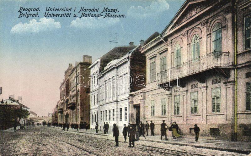 Belgrade, University and National Museum