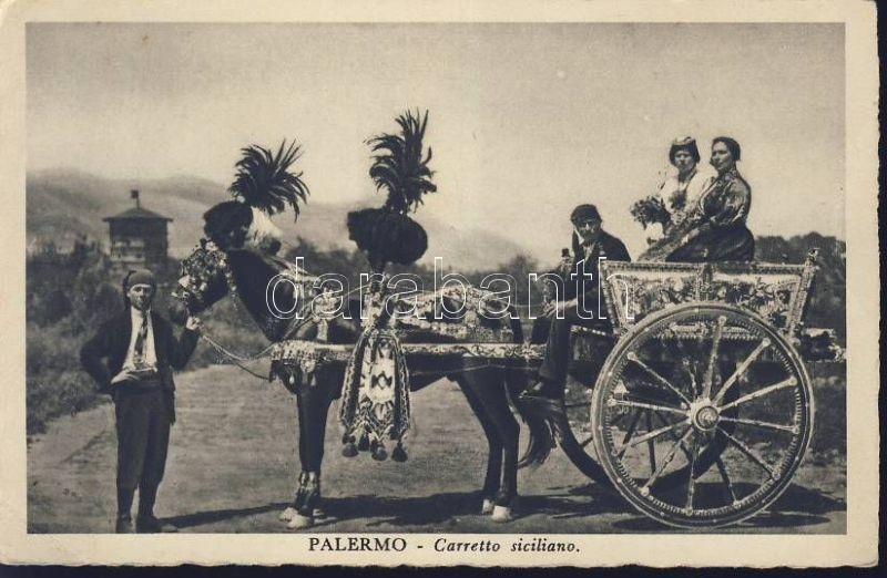 Palermo, Carretto Siciliano / Sicilian carriage