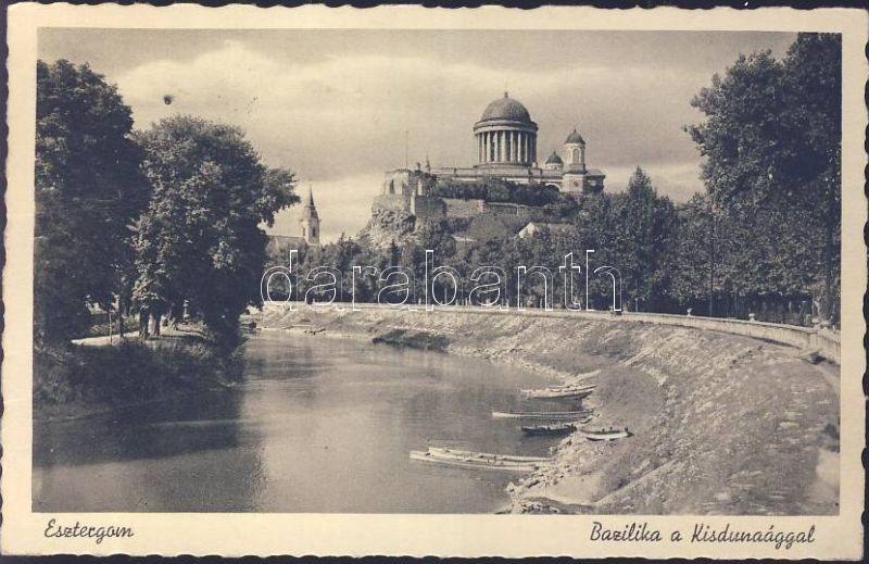 Esztergom, Bazilika a Kisdunaággal