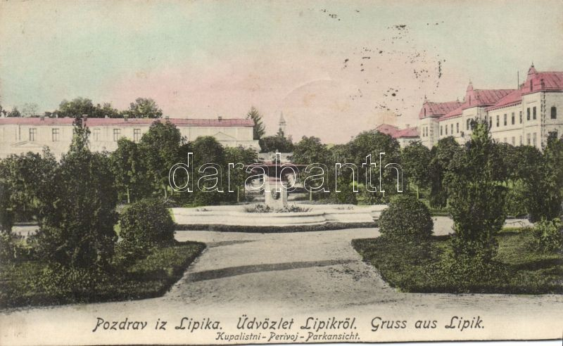 Lipik, Kupalistini, Perivoj / park