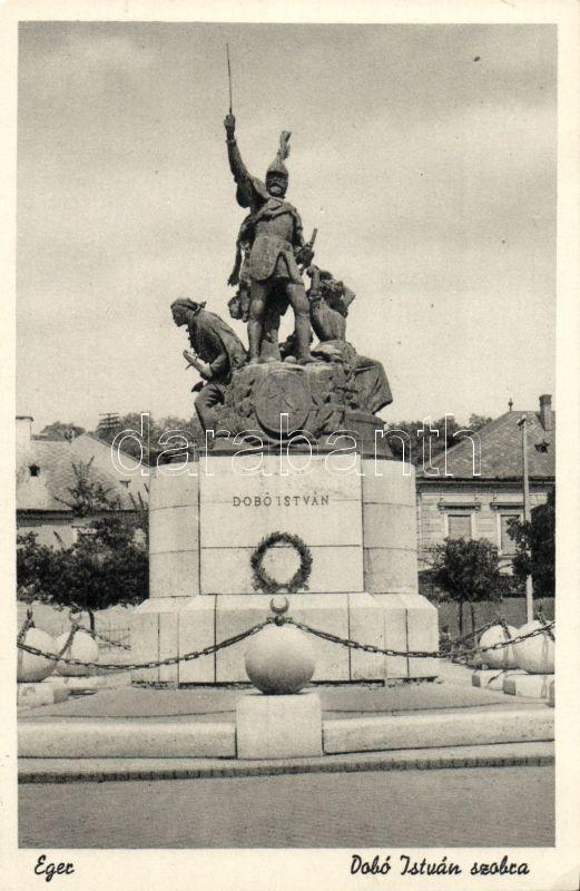 Eger, Dobó István szobra