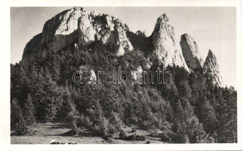 Csiki mountains Egyeskő, Csíki-havasok, Egyes-kő