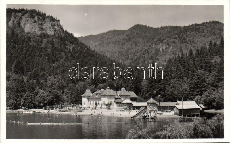 Baile Tusnad, lake, Tusnádfürdő, Csukás tó