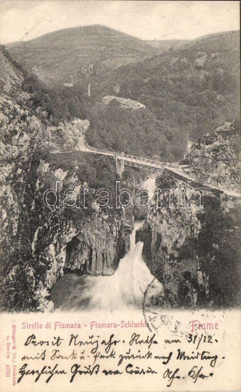 Fiume, Stretto di Fiumara / viaduct, gorge