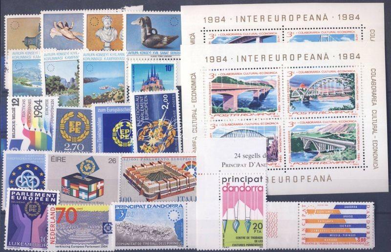 Events 9 diff. countries, 20 diff. stamps + 2 blocks, Események 9 klf ország, 20 klf bélyeg + 2 blokk, Ereignise 9 verschiedene Länder, 20 verschiedene Marken + 2 Blöcke