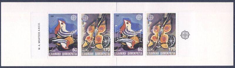 Europa CEPT children's games stamp-booklet, Europa CEPT gyermekjátékok bélyegfüzet, Europa CEPT Kinderbücher Markenheftchen