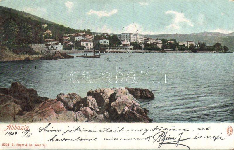 Abbazia, harbour