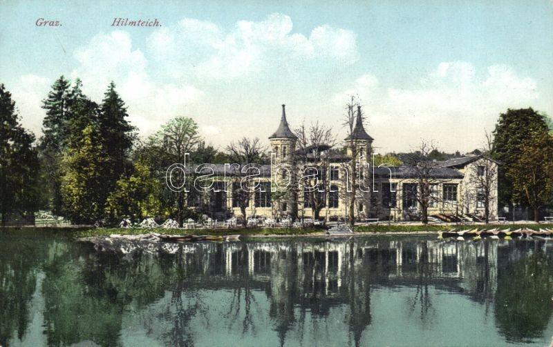 Graz Hilmteich lake, Graz Hilmteich tó