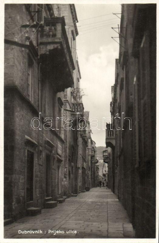 Dubrovnik, Prijeko ulica / street