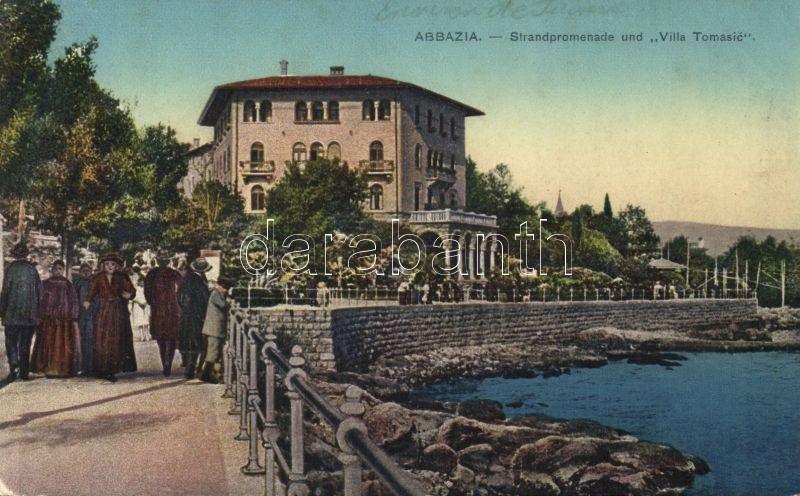 Abbazia, Strandpromenade, Villa Tomasic