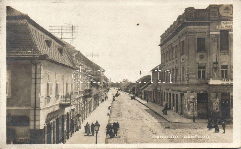 Pancevo, bank, Pancsova, bank