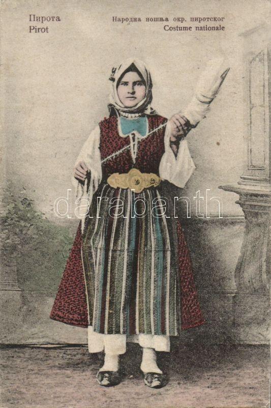 Serbian folklore from Pirot, Pirot, szerb folklór, nemzeti öltözet