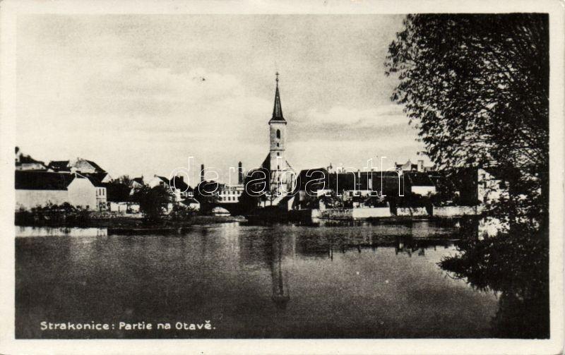 Strakonice Otava river, church, Strakonice Otava part, templom