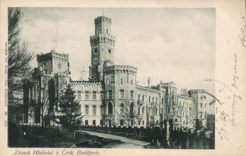 1899 Ceské Budejovice, Zámek Hluboká / castle