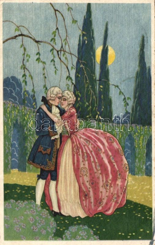 Baroque Romance, Degami 1048, Barokk pár, Degami 1048