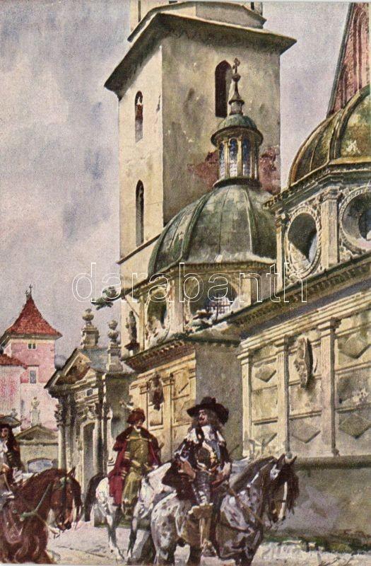 Kraków, Wasa und Siegmundkapelle / chapel s: St. Tondos and W. Kossak