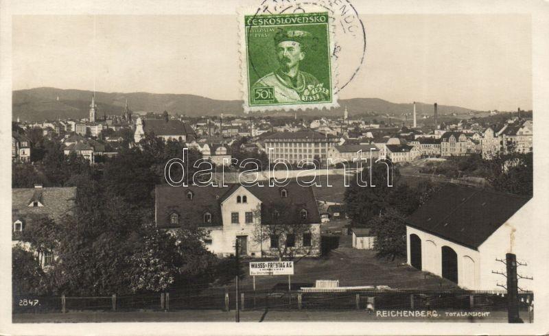Liberec, Reichenberg; the Wayss & Freytag construction company