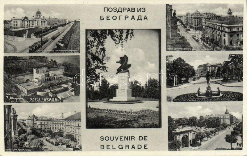 Belgrade, Hotel Avala, trams