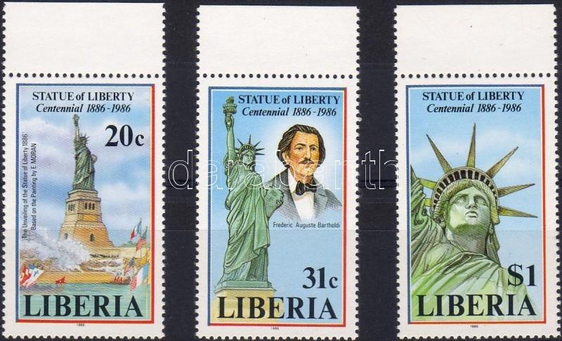 100th birthday of the Statue of Liberty set, 100 éves a new yorki szabadságszobor sor, 100. Jahre Freiheitsstatue Satz