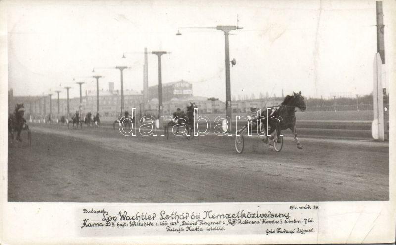 1941 Budapest, Fogathajtó verseny