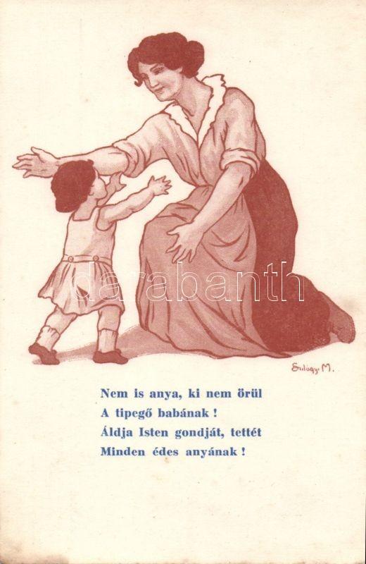 Family propaganda Stefánia Aid Association s: Szilágyi M., Országos Stefánia Szövetség Anyák és Csecsemők védelmére, s: Szilágyi M.