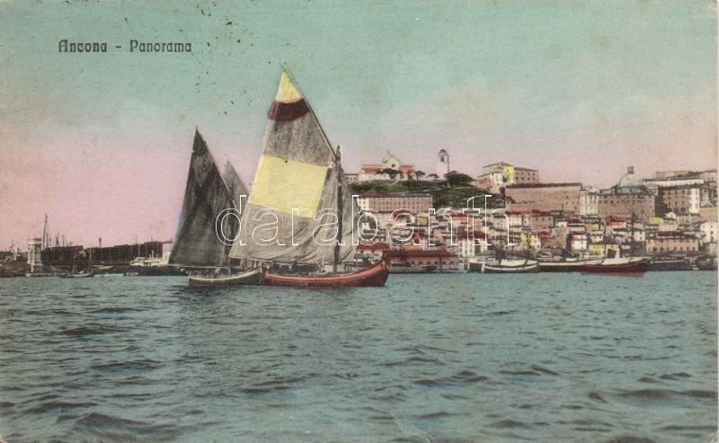 Ancona, sailing boats