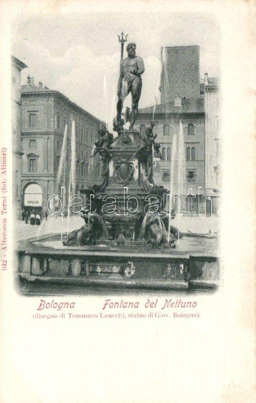 Bologna, Fontana del Nettuno / fountain