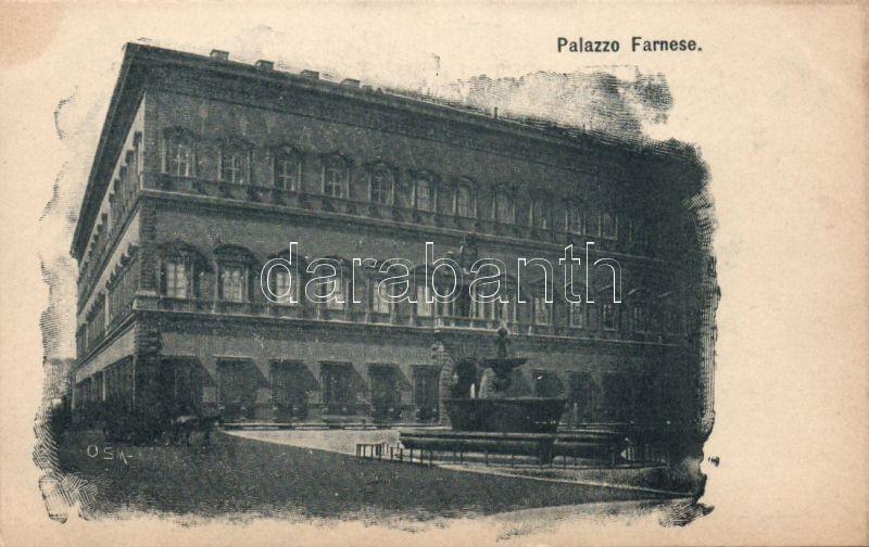 Rome, Roma; Palazzo Farnese