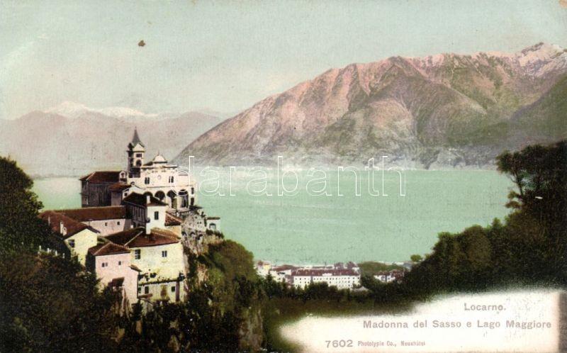Locarno, Madonna del Sasso, Lago Maggiore / church, lake