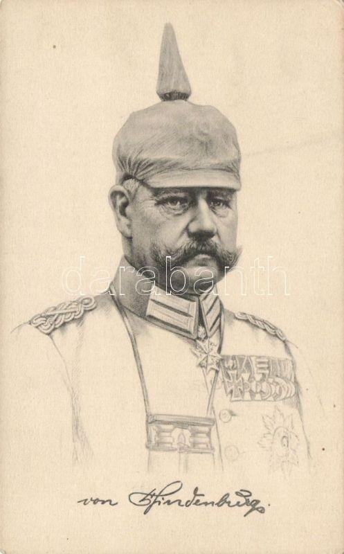 Paul von Hindenburg, Paul von Hindenburg