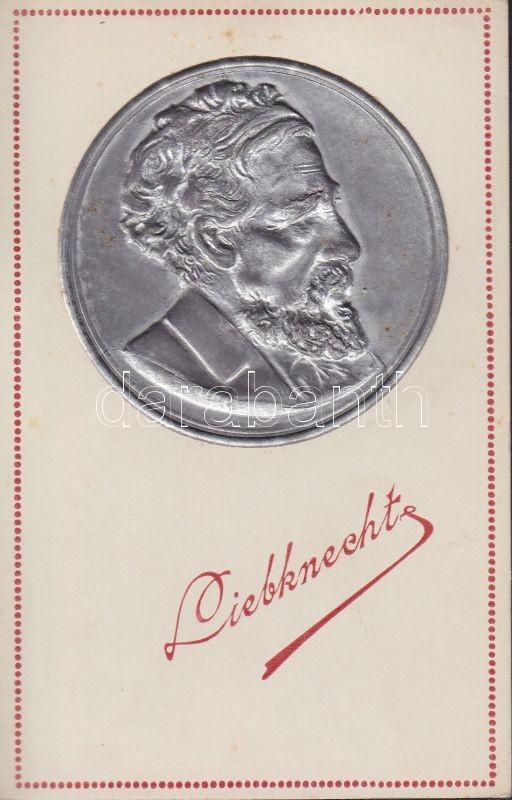 Wilhelm Liebknecht 'Minerva papíráruháza' Emb. (non PC)