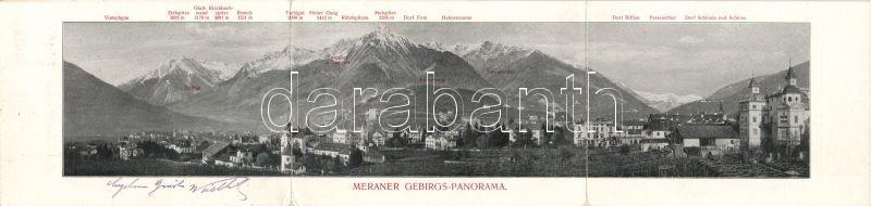 Merano, Meran; Mountain, Hotel Radetzky, dining room, interior