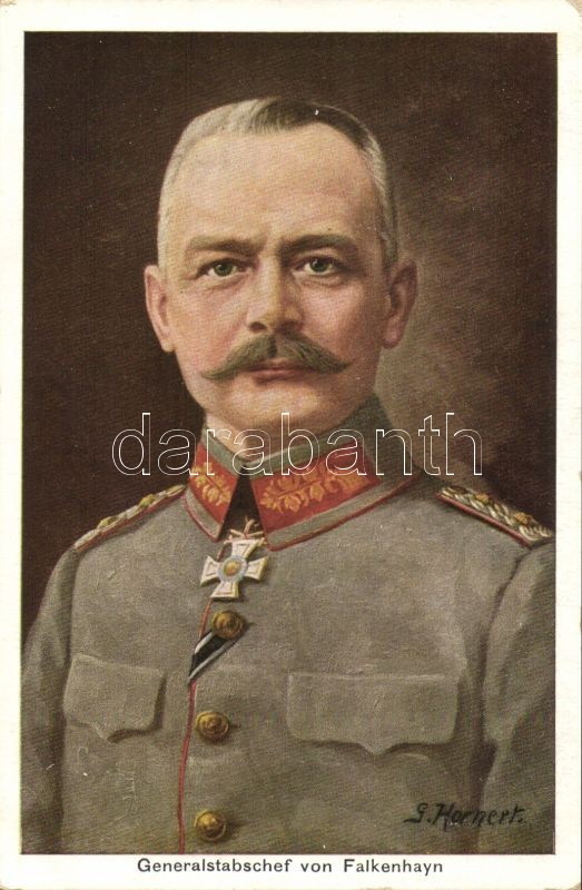 Erich von Falkenhayn s: Hornert