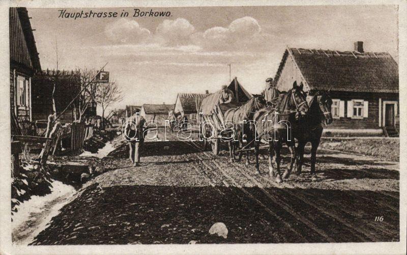 Borkowo, Hauptstrasse / street