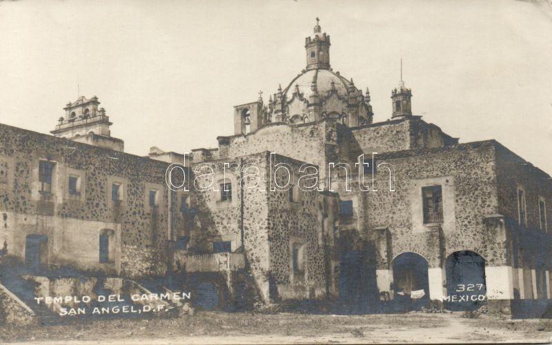 San Ángel, Templo del Carmen