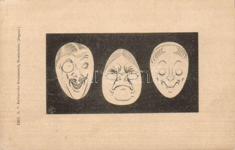 Faces, Arcok