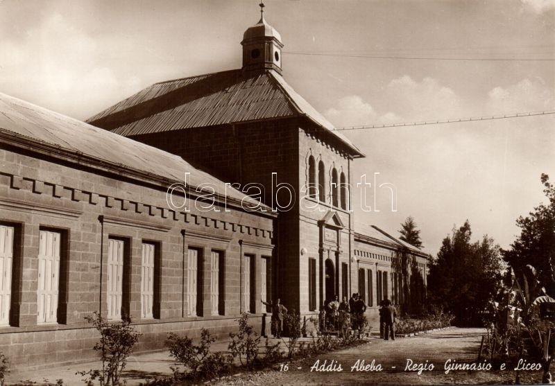 Addis Abeba, Royal grammar school and high school, Addis Abeba, gimnázium