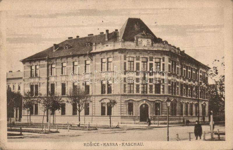 Kosice, business school, Kassa, magyar királyi állami felső és kereskedelmi iskola