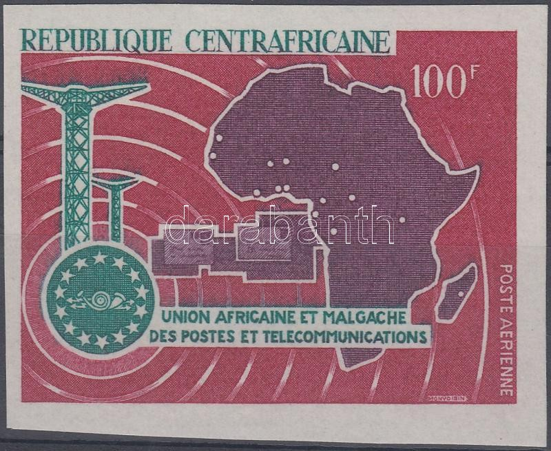 6th anniversary of the African Postal Union, 6 éves az Afrikai Postaunió, 6 Jahre Afrikanisch-Madagassische Post- und Fernmeldeunion