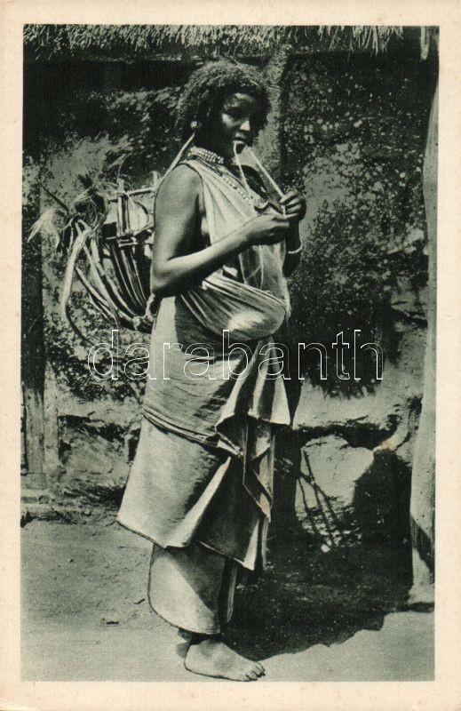 Donna dancala / Ethiopian folklore, Etióp folklór