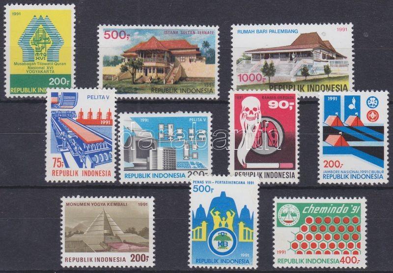 10 divers event stamp, 10 klf eseménybélyeg, 10 verschiedene Ereignismarken