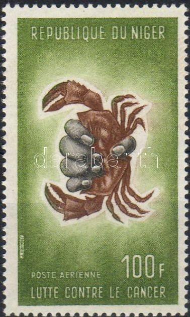 Struggle against cancer stamp, Rák ellenes küzdelem bélyeg, Kampf dem Krebs Marke