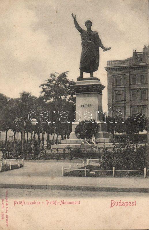 Budapest V. Petőfi szobor