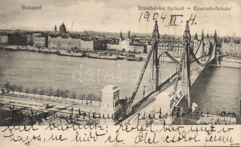 Budapest, Erzsébet híd