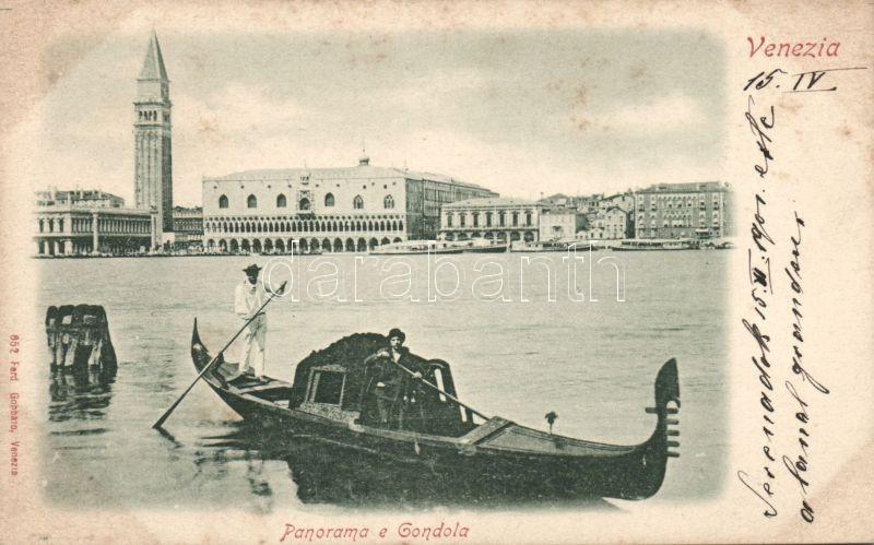Venice, Venezia; gondola