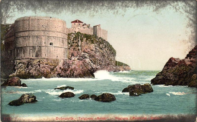 Dubrovnik, Ragusa; Tvrgjava Bokar / fortress